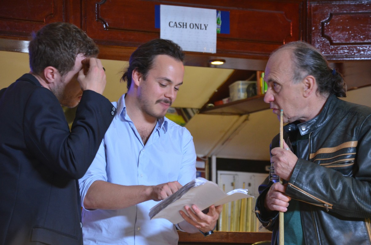 Day 10 - David Elliot, Oliver Nias and Robert Goodman discuss the script