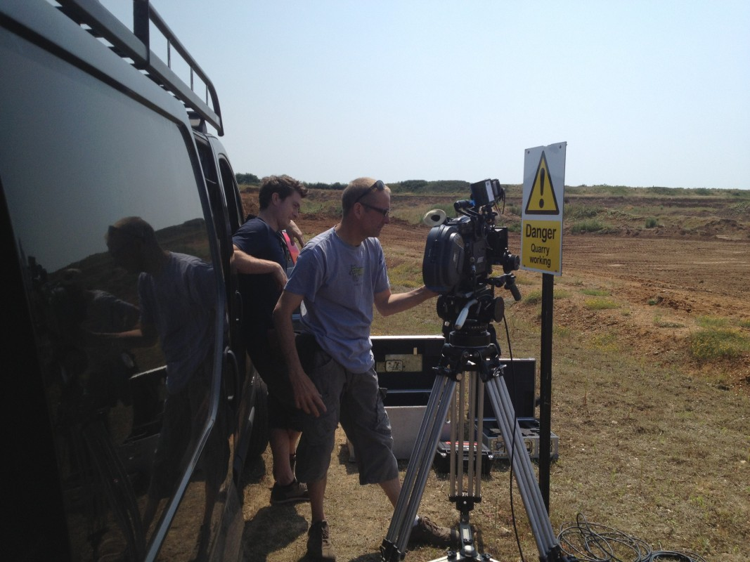 Day 15 - Shooting with a skeleton crew meant very little fuss, ideal if you don't have much time or money