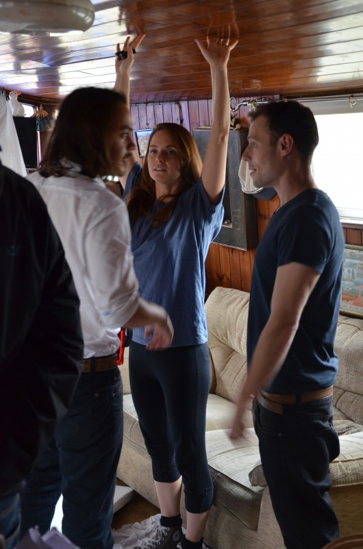 Day 7 - rehearsing on the boat