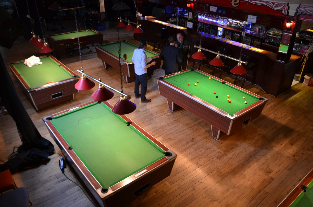 Day 9 - The Snooker Hall