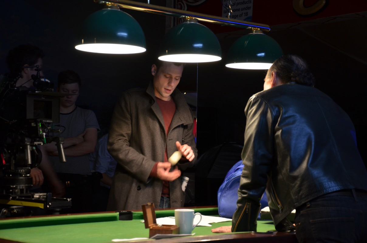 Day 9 - The Snooker Hall scene